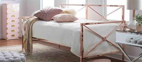 rose gold glam bedroom chic romance hayneedle