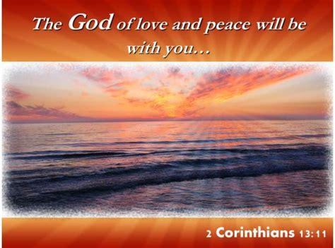 corinthians    god  love  peace powerpoint