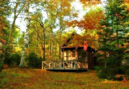 porch  autumn houses architecture background