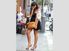 Jameela Jamil makes her legs look even longer by