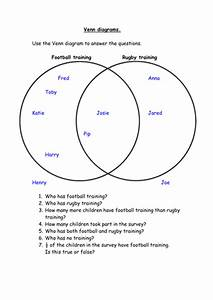 Structured Venn Diagram Questions By Siouxzied - Teaching Resources