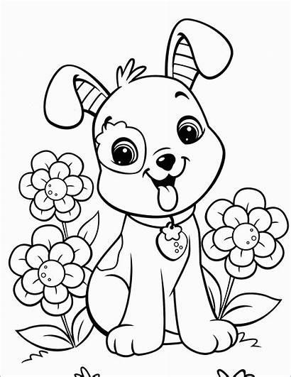 Coloring Dog Puppy Valentine Funny Oguchionyewu Raskraski