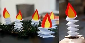 Basteln Mit Papier Anleitung : adventskranz basteln mit kindern 10 bastelideen aus papier ~ Frokenaadalensverden.com Haus und Dekorationen