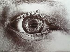 Pen and Ink eye by Hopeart-love on DeviantArt