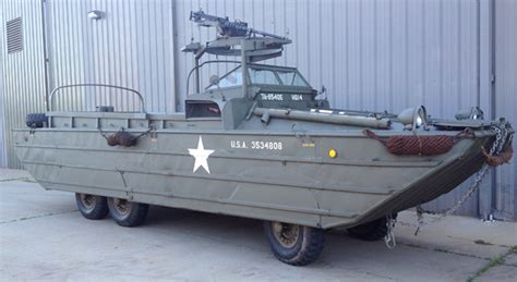 Ww11 Duck Boats For Sale by 1944 Gmc Dukw Wwii