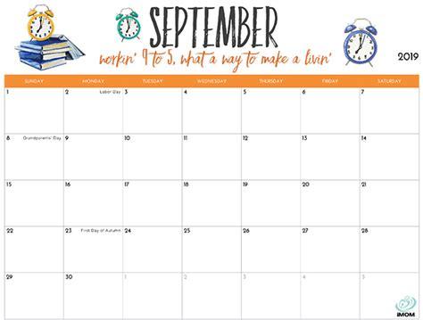 imom calendars brad website