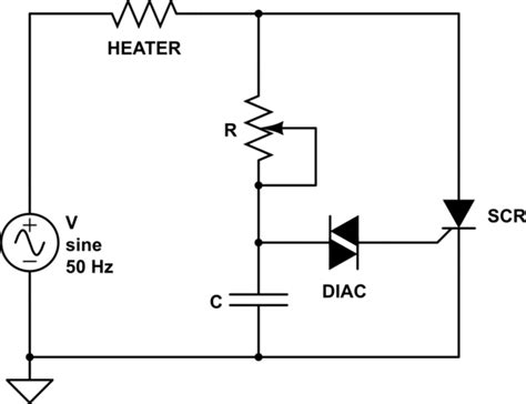 Dimmer How Use Scr Control The Power Heater