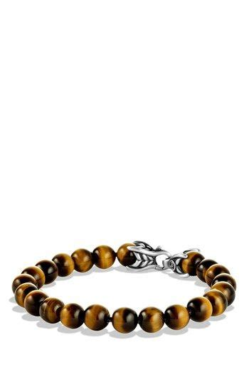 Men David Yurman Spiritual Beads Bracelet Tiger Eye
