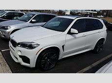 Another F85 X5 M has landed White