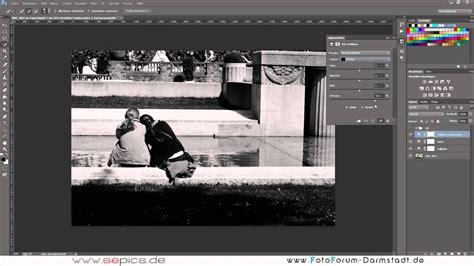 photoshop cc anfaenger tutorial schwarz weiss umwandlung