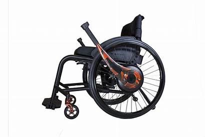 Lever Wheelchair Livingspinal Allows Stop