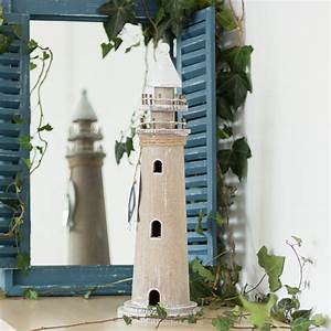 Maritime Deko Bad : leuchtturm aus holz skulptur als maritime deko zimmerdeko ~ Bigdaddyawards.com Haus und Dekorationen
