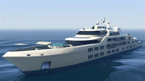 Gta 5 Big Boat by Galaxy Yacht Gta Wiki Fandom Powered By Wikia