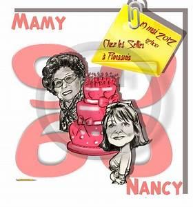 Faire Part Anniversaire 60 Ans : faire part anniversaire 60 ans et 90 ans caricatures ~ Edinachiropracticcenter.com Idées de Décoration