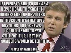 Fact Check: Did Trump say in '98 Republicans are dumb?