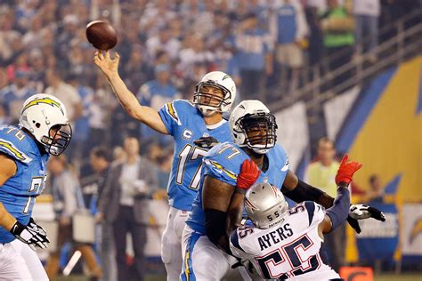 Patriots Vs. San Diego Chargers
