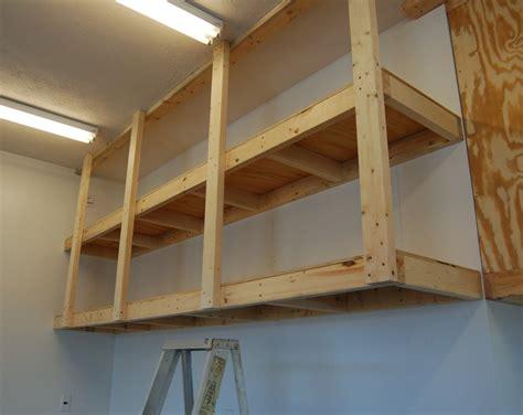 Garage Shelving Do It Yourself by 20 Diy Garage Shelving Ideas Guide Patterns