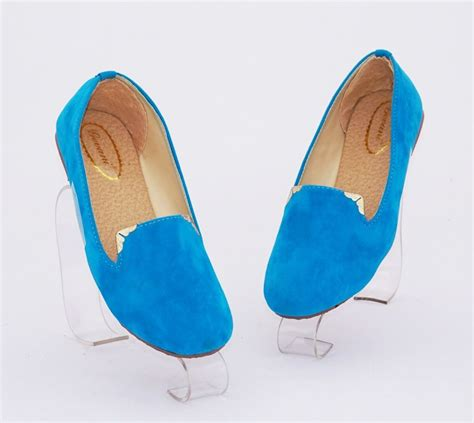 sepatu flat flat shoes rp rp sepatu flat polos casual warna biru bahan beludru sku ddrlaf rp 55 000 gaun tas tas