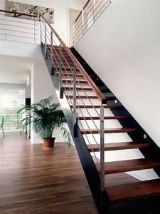 Wohnung Mit Treppe : flachstahltreppe jonas treppen manufaktur holztreppen und metalltreppen stairs treppen ~ Bigdaddyawards.com Haus und Dekorationen