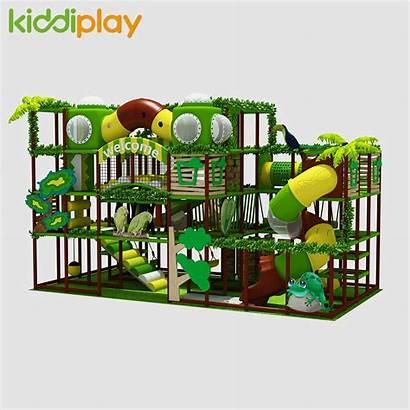 Indoor Playground Forest Theme Fun Equipment Amusement