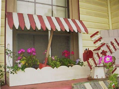 cottage garden window box architectural salvage picket