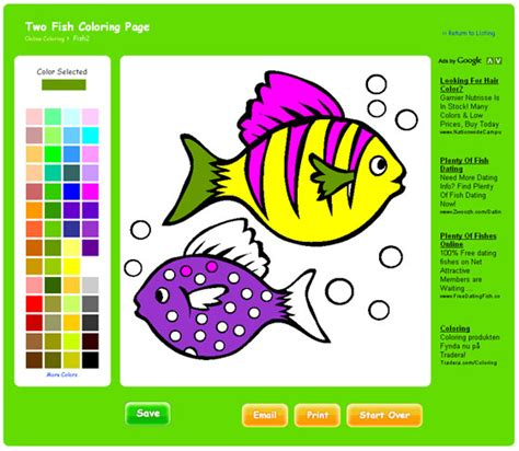 Coloring Website by Free Coloring Pages On Thecolor Software