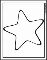 Coloring Star Pages Preschool Stars Printable Pdf Print Colorwithfuzzy sketch template