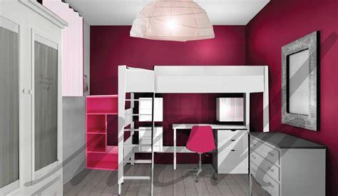 couleurs plus flashy dans la decoration de chambre de