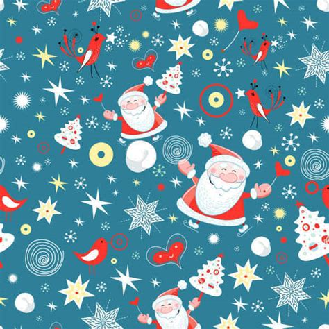 christmas background pattern vector  file