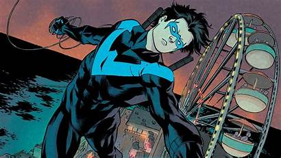 Nightwing Dc Comics Background Wallpapers