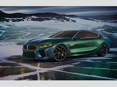 BMW M8 Gran Coupe concept revealed, production version