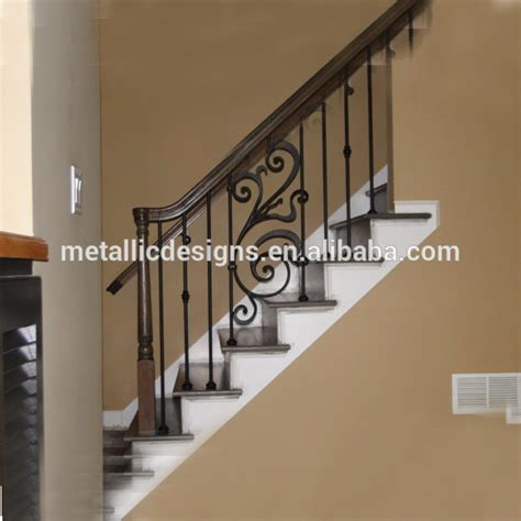 Buy Banister by Wrought Iron Handrail Design Modern Iron Banisters Cast