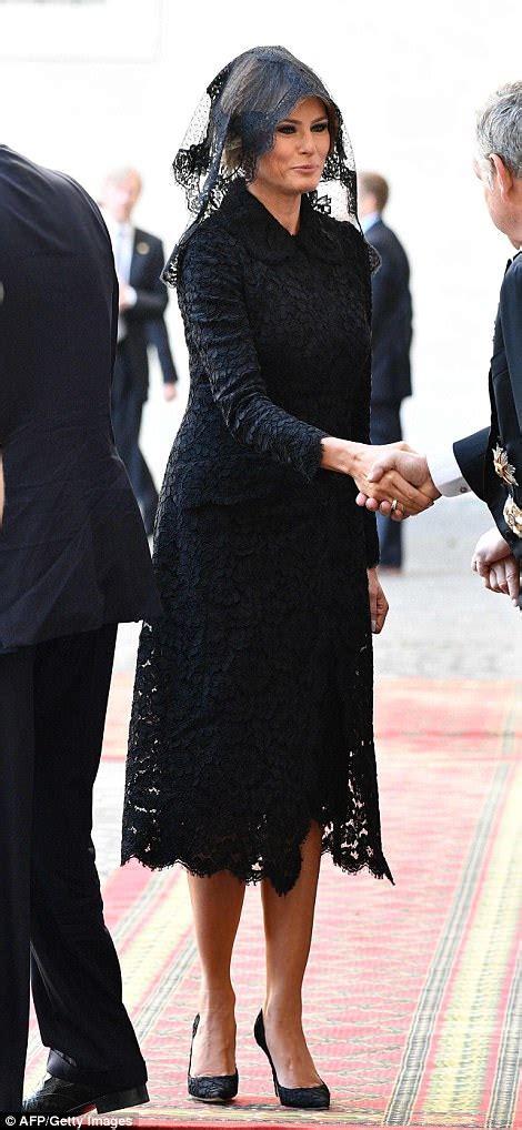 Melania Trump's Coats | POPSUGAR Fashion