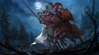 Warhammer Knight Fantasy War Total Artwork Horse