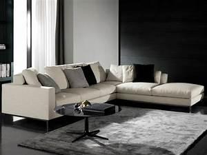 meuble coin quel mobilier pour quel espace choisir With tapis de sol avec canapé d angle blanc