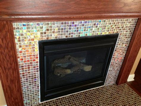 mosaic tile fireplace 323 best images about mosaic fireplace on