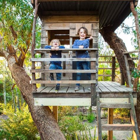 House In Tree by Tree Houses Cubbies Australia Castle Cubby