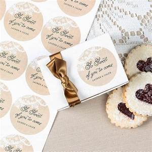 Personalized round wedding labels for Stickers for wedding favors