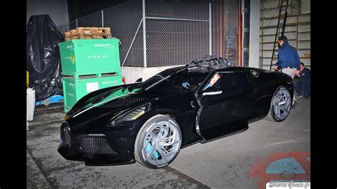 bugatti la voiture noire driving   geneva