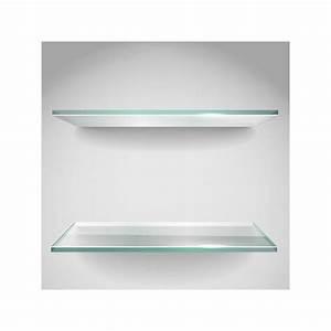étagère En Verre Ikea : etagere en verre clair trempe de securite ~ Teatrodelosmanantiales.com Idées de Décoration