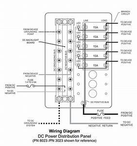 Blue Sea Systems 8023 Dc Circuit Breaker Panel With 8 Positions