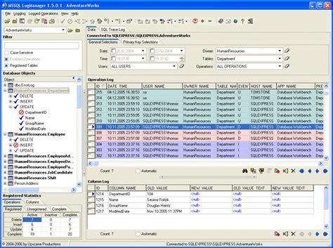 sql trigger audit table changes mssql logmanager database auditing for microsoft sql