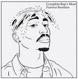 Coloring Rap Bun Activity Tupac Courtesy Pages Rapper Colouring 2pac Drop Down Printable sketch template