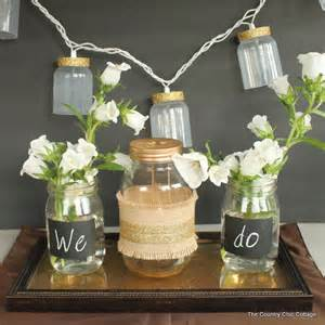 9 jar wedding centerpiece ideas temple square