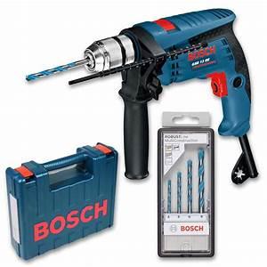 Bohrmaschine Bosch Professional : bosch gsb 13 re schlag bohrmaschine inkl bohrerset ~ Watch28wear.com Haus und Dekorationen
