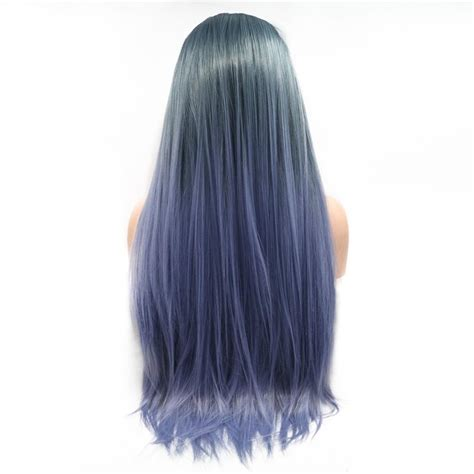Synthetic Wigs Long Natural Straight Fashion Cosplay Heat