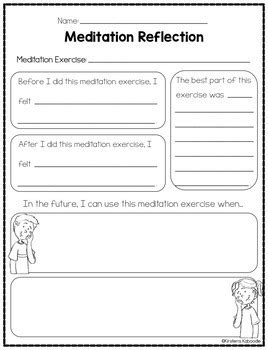 Mindfulness Activities And Meditation Exercises By Kirsten's Kaboodle