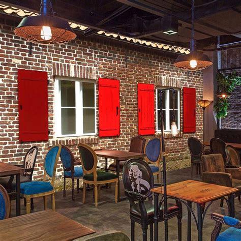 Custom Wall Mural Retro 3d Brick Effect Wallpaper Bvm Home