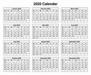 2020 Calendar Template Microsoft Word Images 843