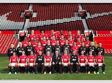 Manchester United all change as latest team picture shows
